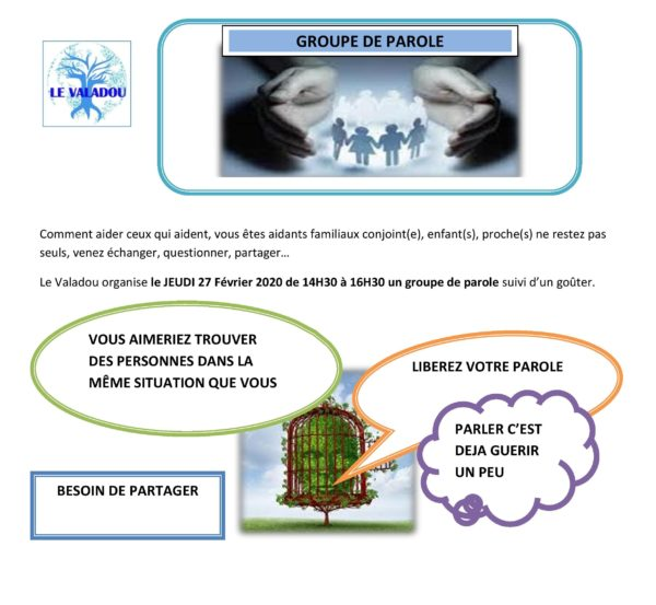 Groupe de parole aidants